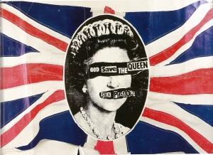 AC_Jamie Reid_Affiche God Save the Queen_1977 -® Sex Pistols Residuals